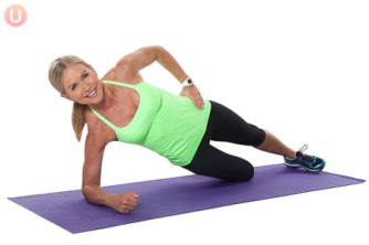 Modified side plank